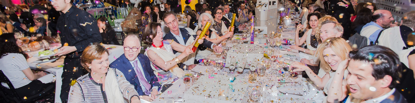 Partygoers at the Brooklyn Artists Ball, 2015