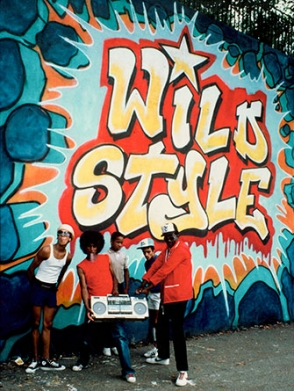 <p>Martha Cooper: Wild Style mural photo</p>