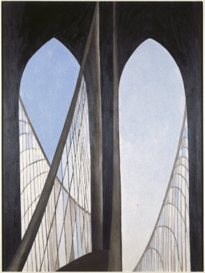 <p>Georgia O&#39;Keeffe: Brooklyn Bridge</p>