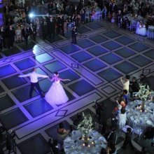 <p>Wedding reception. (Photo: Philip Greenberg)</p>