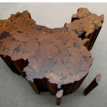 <p>Ai Weiwei (Chinese, b. 1957). <i>Map of China</i>, 2008. Tieli wood (iron wood) from dismantled temples of the Qing Dynasty (1644‒1911), 63<sup>3</sup>⁄<sub>8</sub> x 84<sup>5</sup>⁄<sub>8</sub> x 66<sup>15</sup>⁄<sub>16</sub> in. (161 x 215 x 170 cm). Collection of the Faurschou Foundation. © Ai Weiwei</p>