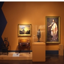 <p>Gallery view of &ldquo;The Centennial Era, 1876&ndash;1900: Tradition and Innovation,&rdquo; <i>American Identities</i></p>