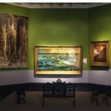 <p>Gallery view of &ldquo;Inventing American Landscape,&rdquo; <i>American Identities</i></p>