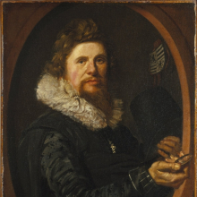 Frans Hals (Dutch, circa 1580–1666). Portrait of a Man, circa 1614–15. Oil on canvas, 29 × 21 3⁄4 in. (73.7 × 55.2 cm). Brooklyn Museum, Gift of the executors of the estate of Colonel Michael Friedsam, 32.821
