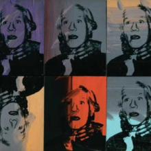 <p>Andy Warhol (American, 1928–1987). <em>Self-Portrait (Strangulation)</em>, 1978. Acrylic and silkscreen ink on canvas, ten parts, 16 × 13 in. (40.6 × 33 cm) each. Collection of Anthony d'Offay. © 2010 The Andy Warhol Foundation for the Visual Arts/Artists Rights Society (ARS), New York</p>
