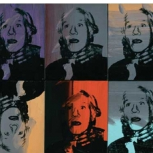 <p>Andy Warhol (American, 1928&ndash;1987). <em>Self-Portrait (Strangulation)</em>, 1978. Acrylic and silkscreen ink on canvas, ten parts, 16 &times; 13 in. (40.6 &times; 33 cm) each. Collection of Anthony d&rsquo;Offay. &copy; 2010 The Andy Warhol Foundation for the Visual Arts/Artists Rights Society (ARS), New York</p>
