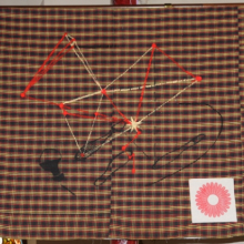 <p>Sanford Biggers (American, b. 1970) <i>UGRR:US2.2</i>, 2009–10. Repurposed quilt. Courtesy of the artist and Michael Klein Arts, New York</p>