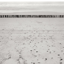 <p>Eleanor Antin (American, b. 1935). 100 Boots Facing the Sea, Del Mar, California. February 9, 1971, 2:00 p.m.(mailed: March 15, 1971, 1971–73. Photograph, 8 &#215; 10 in (20.3 &#215; 25.4 cm). © Eleanor Antin. (Photo: Ronald Feldman Fine Arts, New York/www.feldmangallery.com)</p>