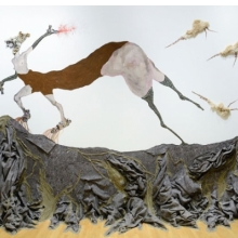 <p>Wangechi Mutu (Kenyan, b. 1972). <i>Once upon a time she said, I&rsquo;m not afraid and her enemies began to fear her The End</i>, 2013. Mixed media, dimensions variable. Courtesy of the artist. &copy; Wangechi Mutu. Image courtesy of the Nasher Museum of Art at Duke University, Durham, North Carolina. (Photo: Peter Paul Geoffrion)</p>