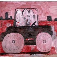 <p>Philip Guston (American, b. Canada, 1913&ndash;1980). <em>City Limits</em>, 1969. Oil on canvas, 77 &times; 103<sup>1</sup>&frasl;<sub>4</sub> in. (195.6 &times; 262.2 cm). The Museum of Modern Art, New York, Gift of Musa Guston, 1991. &copy; The Estate of Philip Guston</p>