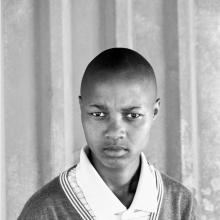 <p>Zanele Muholi (South African, born 1972). <em>Lumka Stemela, Nyanga East, Cape Town, 2011</em>, 2011. Gelatin silver photograph, 34 × 24 in. (86.5 × 60.5 cm). © Zanele Muholi. Courtesy of Stevenson, Cape Town/Johannesburg and Yancey Richardson, New York</p>