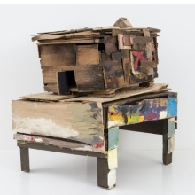 <p>Beverly Buchanan (American, 1940&ndash;2015). <em>Old Colored School</em>, 2010. Wood and paint, 20<sup>1</sup>&frasl;<sub>4</sub> x 14<sup>3</sup>&frasl;<sub>4</sub> x 18<sup>1</sup>&frasl;<sub>2</sub> in. (51.4 x 37.5 x 47 cm). &copy; Estate of Beverly Buchanan, courtesy of Jane Bridges. (Photo: Adam Reich, courtesy of Andrew Edlin Gallery, New York)</p>