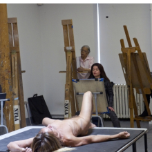 <p><em>Iggy Pop Life Class by Jeremy Deller</em>. Organized by the Brooklyn Museum, February 21, 2016. (Photo: Elena Olivo, &copy; Brooklyn Museum)</p>