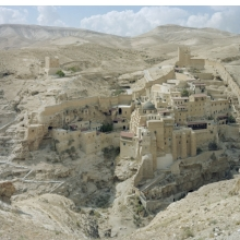 <p>Stephen Shore (American, born 1947).<em>&nbsp;St. Sabas Monastery, Judean Desert, Israel</em>, September 20, 2009. Chromogenic print, 36 x 45 in. (91.4 x 114.3 cm). Courtesy of the artist and 303 Gallery, New York. &copy; Stephen Shore, all rights reserved</p>