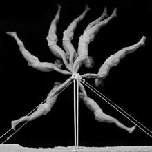 <p>Georges Demeny (French, 1850–1917).<em> Chronophotograph of an exercise on the horizontal bar,</em> 1906. Black-and-white photograph. © INSEP Iconothèque</p>