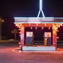 <p>Ahmed Mater (Saudi, born 1979). <em>Gas Station Leadlight</em>, 2013. C‐print, 60 x 90 in. (152.4 x 228.6 cm). Courtesy of the artist and GALLERIA CONTINUA, San Gimignano / Beijing / Les Moulins / Habana. © Ahmed Mater</p>
