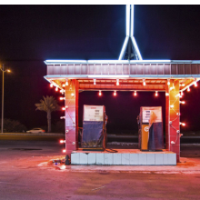 <p>Ahmed Mater (Saudi, born 1979). <em>Gas Station Leadlight</em>, 2013. C&#8208;print, 60 x 90 in. (152.4 x 228.6 cm). Courtesy of the artist and GALLERIA CONTINUA, San Gimignano / Beijing / Les Moulins / Habana. &copy; Ahmed Mater</p>