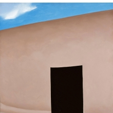 <p>Georgia O&rsquo;Keeffe (American, 1887&ndash;1986). <em>Patio with Cloud</em>, 1956. Oil on canvas, 36 x 30 in. (91.4 x 76.2 cm). Milwaukee Art Museum; Gift of Mrs. Edward R. Wehr, M1957.10. &copy; Georgia O&rsquo;Keeffe Museum/Artists Rights Society (ARS), New York. (Photo: P. Richard Eells)</p>
