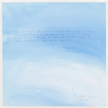 <p>Byron Kim (American, born 1961). <em>Sunday Painting 2/18/07</em>, 2007. Acrylic and gouache on canvas, mounted on panel, 14 x 14 in. (35.6 x 35.6 cm). Brooklyn Museum; Gift of the Contemporary Art Council in honor of Eugenie Tsai and Patrick Amsellem, 2011.37.1. © Byron Kim/ Courtesy James Cohan Gallery, New York/SHANGHAI</p>