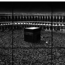 <p>Robert Longo (American, born 1953). <em>Untitled (Mecca)</em>, 2010. Charcoal on mounted paper, 166 x 252 in. (421.6 x 640.1 cm). &copy; Robert Longo, Private Collection. (Photo: Courtesy of the artist and Galerie Thaddaeus Ropac; London, Paris, Salzburg)</p>