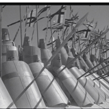<p>Sergei Eisenstein (Russian, 1898&ndash;1948). Still from <em>Alexander Nevsky</em>, 1938. 35mm film, black and white, 111 min. Gosfilmofond (National Film Foundation of Russian Federation)</p>