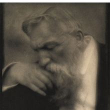 <p>Edward Steichen (American, born Luxembourg, 1879&ndash;1973). <em>M. Auguste Rodin</em>, 1911. Photogravure, image: 10<sup>1</sup>/<sub>4</sub> x 7 in. (26 x 17.8 cm). Brooklyn Museum; Gift of Arnold and Pamela Lehman, 2003.76.2</p>
