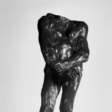 <p>Auguste Rodin (French, 1840–1917). <em>Balzac, Second Study for Nude F</em>, 1896; cast 1979. Cast by Georges Rudier Fondeur, Paris. Bronze, 37 x 16 x 15<sup>1</sup>/<sub>2</sub> in. (94 x 40.6 x 39.4 cm). Brooklyn Museum; Gift of Iris and B. Gerald Cantor, 84.77.10</p>