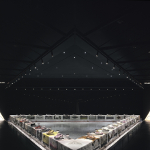 <p>Judy Chicago (American, born 1939). <em>The Dinner Party</em>, 1974&#8210;79. Ceramic, porcelain, textile, 576 x 576 in. (1463 x 1463 cm). Brooklyn Museum, Gift of the Elizabeth A. Sackler Foundation, 2002.10. &copy; 2017 Judy Chicago / Artists Rights Society (ARS), New York. (Photo &copy; Donald Woodman)</p>