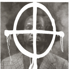 <p>Rashid Johnson (American, born 1977). <em>Thurgood in the Hour of Chaos</em>, 2009. Edition: 46/50. Photolithograph, 30 x 22 in. (76.2 x 55.9 cm). Brooklyn Museum; Gift of Exit Art, 2013.30.28. &copy; Rashid Johnson (Photo: Brooklyn Museum)</p>