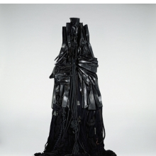 <p>Barbara Chase-Riboud (American, born 1939). <em>Confessions for Myself</em>, 1972. Painted bronze and wood, 120 x 40 x 12 in. (304.8 x 101.6 x 30.5 cm). University of California, Berkeley Art Museum and Pacific Film Archive, purchased with funds from the H. W. Anderson Charitable Foundation, 1972.105. &copy; Barbara Chase-Riboud, courtesy of her representative Michael Rosenfeld Gallery, LLY, New York, NY. (Photographed for the University of California Berkeley Art Museum and Pacific Film Archive by Benjamin Blackwell)</p>