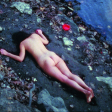 <p>Ana Mendieta (Cuba 1948–1985 United States; worked in the United States). <em>Corazón de roca con sangre</em> (Rock heart with blood), 1975. Super 8 film converted to high definition digital media, color, silent, 3:03 min. Courtesy of The Estate of Ana Mendieta Collection, LLC, and Galerie Lelong, New York. © Ana Mendieta</p>