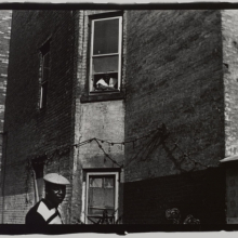 <p>Ming Smith (American). <em>When You See Me Comin' Raise Your Window High</em>, 1972. Vintage gelatin silver print, 11 x 14 in. (27.9 x 35.6 cm). Courtesy of the artist and Steven Kasher Gallery. © Ming Smith</p>