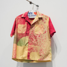 <p>Eric N. Mack (American, born 1987). Hand-dyed cotton button-down shirt, 2017. (Photo: Jonathan Dorado)</p>