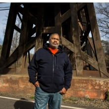<p>Anthony Ray Hinton in Quinton, Alabama, where he has lived since 2015, when he was released from death row. 2017. (Photo: Raymond Thompson for the Equal Justice Initiative)</p>