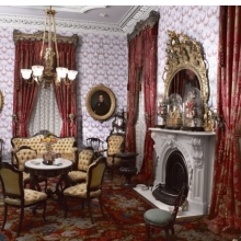 <p><em>Parlor, Colonel Robert J. Milligan House</em>. Saratoga Springs, New York, 1854&ndash;56. Brooklyn Museum, Dick S. Ramsay Fund, 40.930</p>