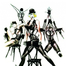 <p>Jean Paul Gaultier (French, b. 1952). Sketch of Madonna's stage costumes for her Blond Ambition World Tour, 1989–90, inkjet print, 11 x 17 in. (27.9 x 43.1 cm). © Jean Paul Gaultier</p>