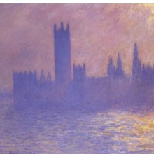 Claude Monet (French, 1840–1926). Houses of Parliament, Effect of Sunlight, 1903. Oil on canvas. Brooklyn Museum, Bequest of Grace Underwood Barton, 68.48.1