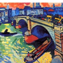 <p>André Derain (French, 1880–1954). <i>London Bridge</i>, 1906. Oil on canvas. The Museum of Modern Art, New York. Gift of Mr. and Mrs. Charles Zadok</p>