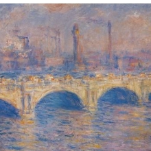<p>Claude Monet (French, 1840–1926). <i>Waterloo Bridge, London</i>, circa 1903. Oil on canvas. Carnegie Museum of Art, Pittsburgh. Acquired through the generosity of the Sarah Mellon Scaife Family</p>