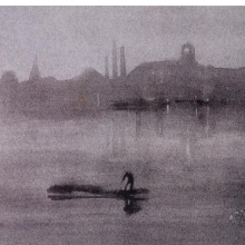 <p>James McNeill Whistler (American, 1834–1903). <i>Nocturne: The River at Battersea</i>, 1878. Lithotint on paper. S. P. Avery Collection, Miriam and Ira D. Wallach Division of Art, Prints and Photographs, The New York Public Library, Astor, Lenox, and Tilden Foundations</p>