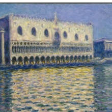 <p>Claude Monet (French, 1840–1926). <i>The Doge's Palace in Venice</i>, 1908. Oil on canvas. Brooklyn Museum, Gift of A. Augustus Healy, 20.634</p>