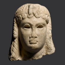 <p><em>Ptolemaic Queen (Cleopatra VII ?)</em>. Egypt, provenance not known. Ptolemaic Period, 305–30 <small>B.C.E.</small></p>  <p>Marble. Brooklyn Museum, Charles Edwin Wilbour Fund, 71.12</p>