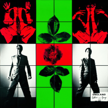 <p>Gilbert & George. <i>England</i>, 1980. 118<sup>3</sup>⁄<sub>4</sub> x 119<sup>1</sup>⁄<sub>3</sub> in. (301.6 × 303.1 cm). Tate, London, purchased 1981. © Gilbert & George</p>