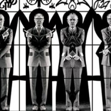 Gilbert & George. Apostasia (detail), 2004. Rubell Family Collection, Miami. © Gilbert & George