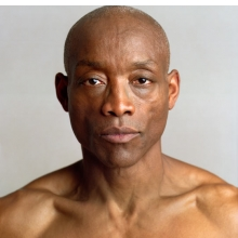<p>Timothy Greenfield-Sanders (American, b. 1952). <i>Bill T. Jones</i>, 2007. Epson inkjet photograph. Collection of the artist, courtesy of Devin Borden Hiram Butler Gallery. © Timothy Greenfield-Sanders</p>