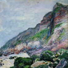 <p>Gustave Caillebotte (French, 1848–1894). <i>Cliffs in Normandy</i>, 1880. Oil on canvas, 28<sup>3</sup>⁄<sub>4</sub> x 23<sup>5</sup>⁄<sub>8</sub> in. (73 × 60 cm). Private collection</p>