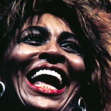 Henry Diltz (American, born 1938). Tina Turner, Universal Amphitheater, Los Angeles (detail), October 1985. Chromogenic print. © Henry Diltz
