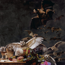 <p>Yinka Shonibare MBE (b. United Kingdom, 1962). <em>The Sleep of Reason Produces Monsters (America)</em>, 2008. Chromogenic photograph, 72 × 48<sup>3</sup>⁄<sub>4</sub> in. Image courtesy of the artist, Stephen Friedman Gallery, London, and James Cohan Gallery, New York. © the artist</p>