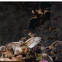 <p>Yinka Shonibare MBE (b. United Kingdom, 1962). <em>The Sleep of Reason Produces Monsters (America)</em>, 2008. Chromogenic photograph, 72 &times; 48<sup>3</sup>&frasl;<sub>4</sub> in. Image courtesy of the artist, Stephen Friedman Gallery, London, and James Cohan Gallery, New York. &copy; the artist</p>