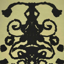 <p>Andy Warhol (American, 1928–1987). <em>Rorschach</em>, 1984. Acrylic on canvas, 158 × 110 in. (401 × 279.4 cm). The Baltimore Museum of Art: Purchase with funds provided by Laura R. Burrows-Jackson, Baltimore; and partial gift of The Andy Warhol Foundation for the Visual Arts, Inc. © 2010 The Andy Warhol Foundation for the Visual Arts/Artists Rights Society (ARS), New York. Photo: Mitro Hood</p>